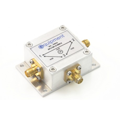 Power splitter / combiner 2R -6dB 0 - 3GHz with mounting flange