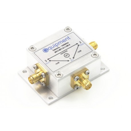 Power splitter / combiner MT1 -6dB 0.1-100MHz with mounting flange