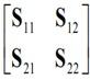 S-parameters matrix